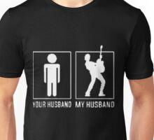 my guitarist husband Unisex T-Shirt