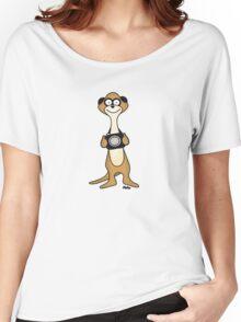 Meerkat Photographer Women's Relaxed Fit T-Shirt