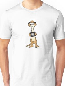 Meerkat Photographer Unisex T-Shirt
