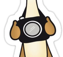 Meerkat Photographer Sticker