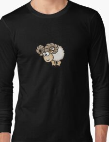 Funny Aries Sheep Long Sleeve T-Shirt