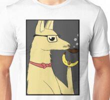 Hipster Llama Unisex T-Shirt