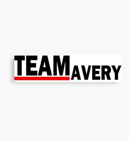 Team Avery For light Canvas Print
