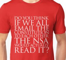 Email the Constitution Unisex T-Shirt