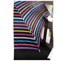 Rainbow Brolly Poster