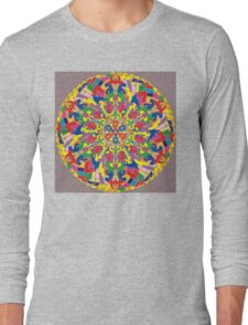 Pattern Long Sleeve T-Shirt