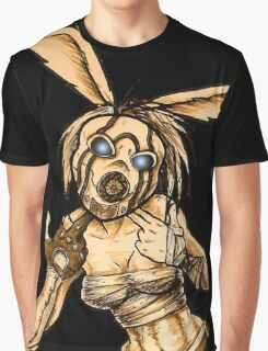 Psycho Lacey Graphic T-Shirt