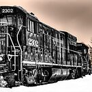 Engine 2302 by KathleenRinker