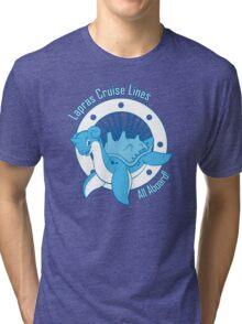 Lapras Cruise Lines Tri-blend T-Shirt