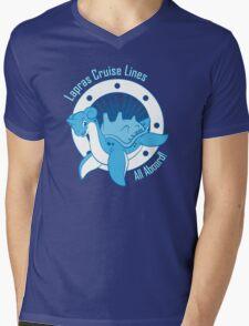 Lapras Cruise Lines Mens V-Neck T-Shirt