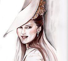 Kate Middleton by Elina Sheripova