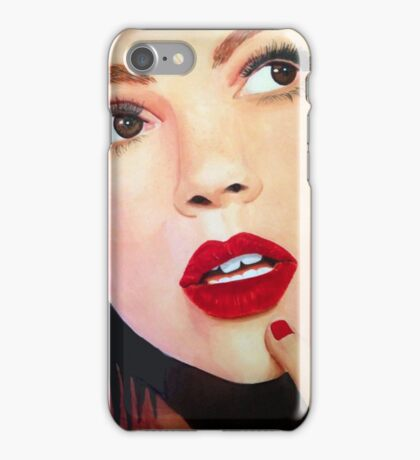 I wonder iPhone Case/Skin