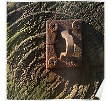 Stamped Hasp Staple Poster