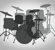 DRUM SET of PROFESSIONAL by Daniel-Hagerman