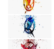 The Hunger Games Trilogy by Itzel Aristide