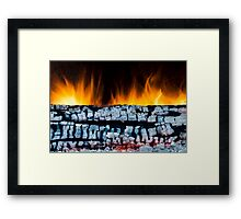 Views From the Fireplace Framed Print