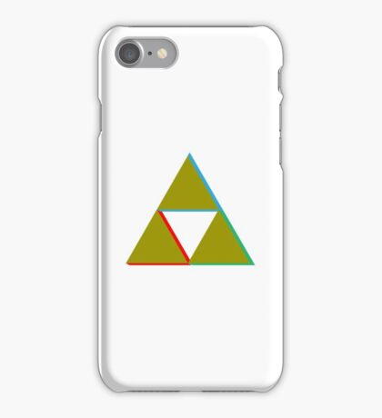 tri force with color iPhone Case/Skin