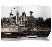 TOWER of LONDON's WHITE TOWER Poster
