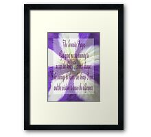 Saying 39 Framed Print