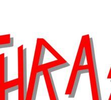 Thrash tee Sticker