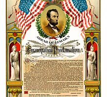 ABE LINCOLN's EMANCIPATION PROCLAMATION by Daniel-Hagerman