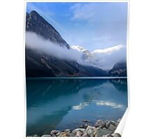MISTY MORNING at LAKE LOUISE - CANADA Poster
