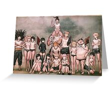 Dangan Ronpa  Greeting Card