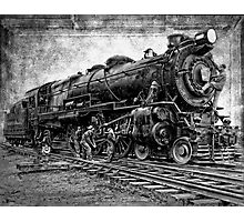 LOCOMOTIVE NO. 3863 in for REPAIRS Photographic Print