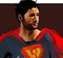 Superman Gary by gardenofart