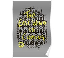 The East Wind is Coming Poster