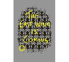 The East Wind is Coming Photographic Print