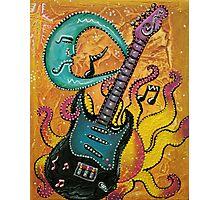 Celestial Guitar Photographic Print