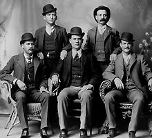 WILD BUNCH GANG of the OLD WEST c. 1900 by Daniel-Hagerman
