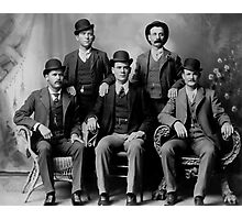 WILD BUNCH GANG of the OLD WEST c. 1900 Photographic Print