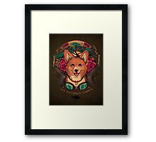 See You Space Cowboy! Framed Print