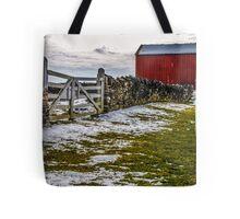 Shakertown Red Barn Tote Bag