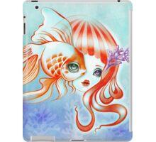 Dreamland Muses - Jellyfish Girl & Goldfish iPad Case/Skin