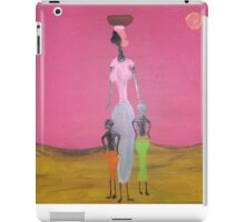 Ethnic collection 2 tablet case woman and children iPad Case/Skin