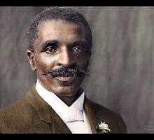 George Washington Carver, 1906 by Dana Keller