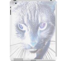 Negative Cat iPad Case/Skin