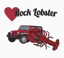 jeep rock lobster Baby Tee
