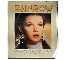 JUDY GARLAND OVER THE RAINBOW Poster