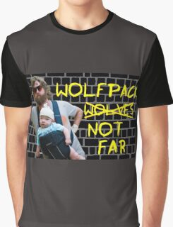 Wolfpack not far Graphic T-Shirt