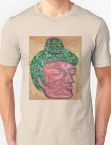 Ethnic collection 2 t-shirt buda head T-Shirt