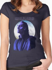 The True King of Asgard?  Women's Fitted Scoop T-Shirt