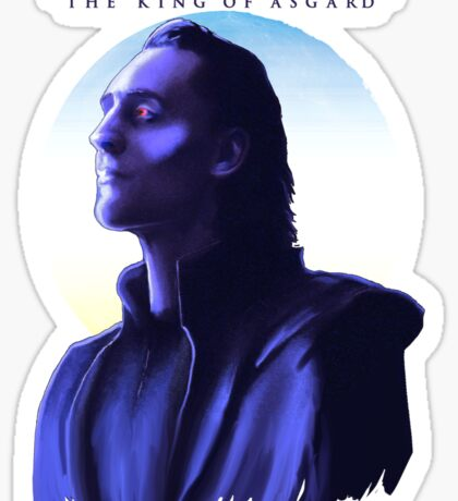 The True King of Asgard?  Sticker