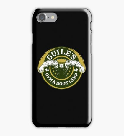 Guile's Gym & Boot Camp iPhone Case/Skin
