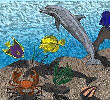 Ocean Floor by Sarah Carver