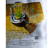 Green Tea at the Zephyr Cafe Photographic Print