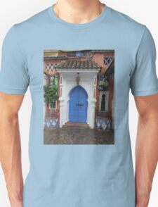 Atlas Travel Desert Caravan 3 village t-shirt Unisex T-Shirt